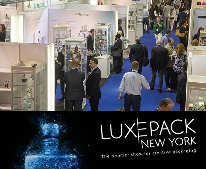 Nuestros envases depresibles de plastico destacarán en la pasarela del Luxe Pack New York 2016
