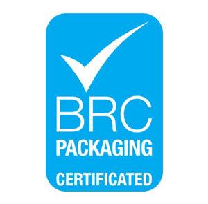BRC Packaging certified